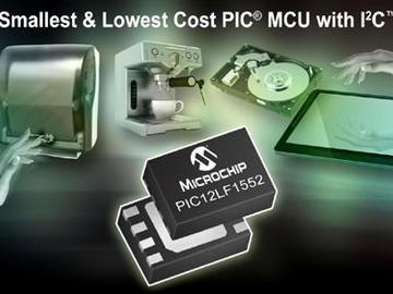 微芯8位单片机再添新成员PIC12LF1552