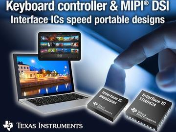 TI推出键盘控制器人机接口器件