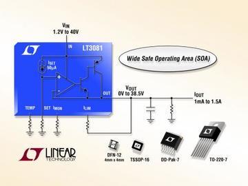 Linear推出宽输入电压范围线性稳压器LT3081