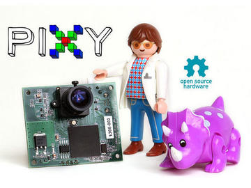 视觉传感器Pixy追踪颜色 打造机器人系统