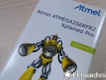 ATMEGA256RFR2 Xplained Pro首发体验