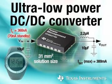 TI超低功耗电路支持新一轮能量采集设计