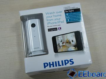Philips In.Sight无线家居监控器拆解