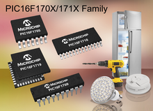 Microchip推出具有智能模拟功能与独立于内核的外设之 高性价比8位PIC®单片机系列新品