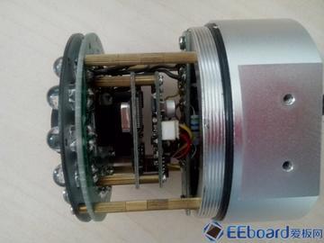 彻底解剖彩色CCD相机——SAC-2003F监控摄像头拆解