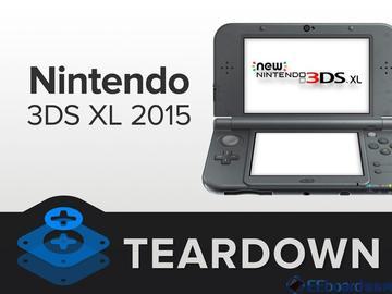 拆解:任天堂 3DS XL 游戏掌机