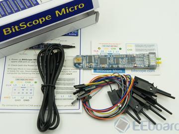 勾搭树莓派——史上最小的便携式虚拟示波器BitScope Micro