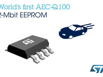 ST新款EEPROM芯片促使汽车更环保安全