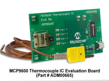 Microchip推出全球首个集成热电偶电动势的温度转换器,简化设计、空间与成本要求