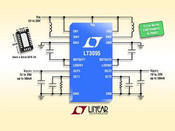凌力尔特推出双通道低噪声偏置发生器