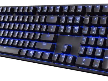 【视频】酷冷至尊QuickFire XTi三色背光机械键盘上市 蓝轴$150