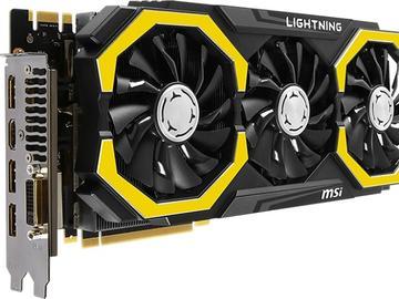 微星发布GTX 980 Ti Lightning超频显卡新品:带RGB LED灯条