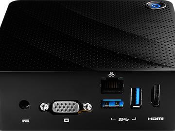 微星发布Cubi N迷你PC:采用Braswell处理器和无风扇设计