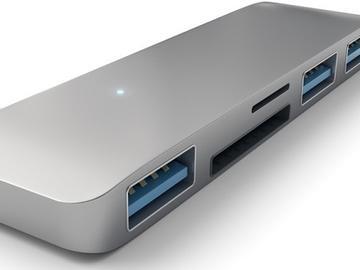 Satechi发布面向MacBook的USB Type-C集线器:售34.99美元