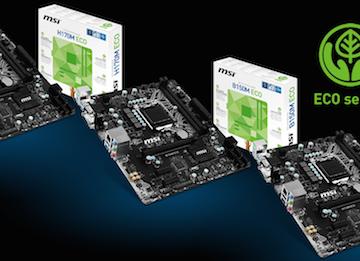 微星发布三款Eco主板 可调各种节能选项