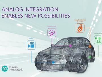 Maxim Integrated汽车IC出货量达十亿颗