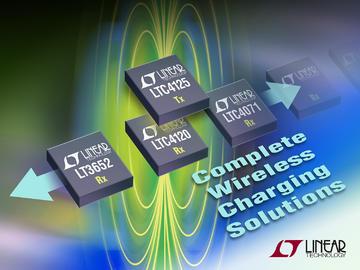 Linear 推出无线功率发送器 LTC4125 提供异物检测功能
