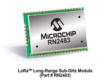 Microchip LoRa 无线模块全球首获LoRa联盟认证