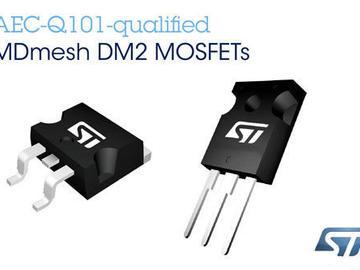 ST推出新款功率MOSFET,实现更小、更环保的汽车电源