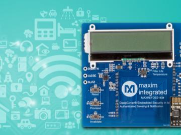 Maxim新闻发布_Maxim最新工业IoT参考设计加速安全认证数据链开发