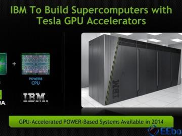 IBM和NVIDIA发布AI服务器——CPU、GPU这样协作更配