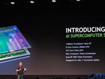 英伟达在自动驾驶领域的最新动作:发布了一款AI超级计算机