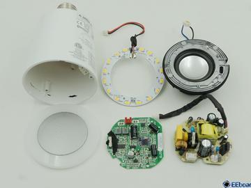 蓝牙智能音响/LED球泡灯Sound Shine拆解