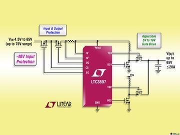 Linear推出多相同步升压型 DC/DC 控制器 LTC3897