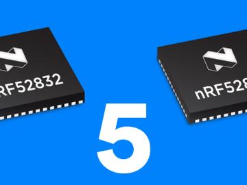 Nordic Semiconductor宣布nRF52840和nRF52832 SoC及其支持软件已为蓝牙5准备就绪
