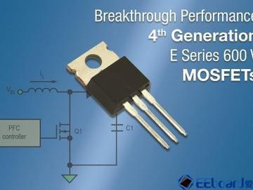 Vishay推出最新第4代600V E系列功率MOSFET