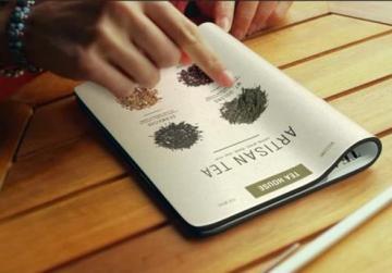 研发可重复利用的电子墨水屏