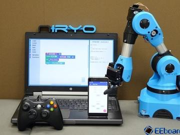 3D打印和Arduino、RaspberryPi共同打造小型六轴机械手臂