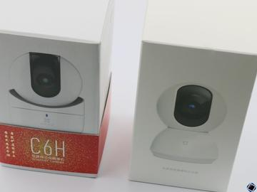 小米智能摄像机云台版 VS 萤石C6H互联网云台摄像机:最亲民的消费级监控摄像机,谁能赢得用户心?