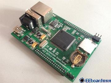 龙芯1C 开源主板启动成功