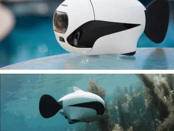 这款长得像的鱼的水下无人机,还能让人愉快的游泳吗?