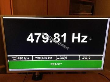 神秘厂家推出LCD屏幕,刷新率高达480MHz创历史新高