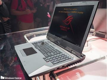 华硕发布世界首款144Hz刷新率游戏本 支持NVIDIA的G-Sync技术,可有效对抗画面撕裂