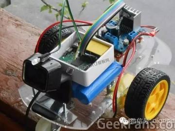 """用无线路由器作""""遥控器"""",互联网控制智能小车制作全过程!"""
