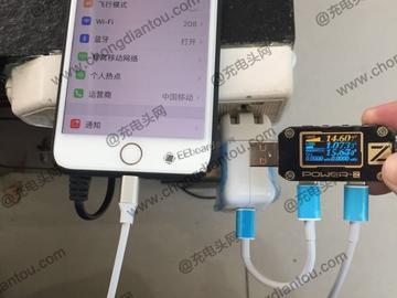 苹果原装USB-C to Lightning数据线被成功破解,成功给iPhone 8 Plus快充