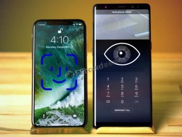 iPhone X PK Note 8 生物识别你强还是我强