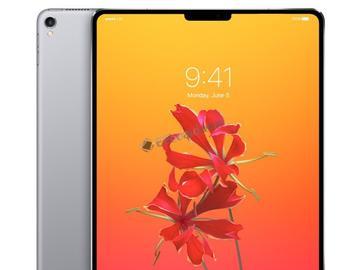 全新iPad将于今年底推出,拥有iPhone X的原深感摄像头