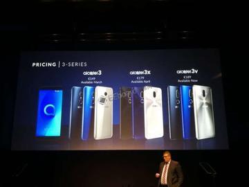 MWC大会,TCL发布Alcatel全面屏系列手机 面部解锁仅需0.5秒