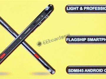 国产发布8G内存骁龙845+IP68全面屏手机AGM X3