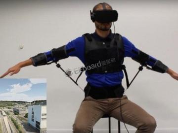 FlyJacket:帮助初学者控制无人机,做出直观的上半身姿势