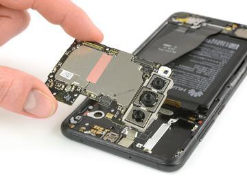 背部配备「徕卡三摄」华为P20 Pro拆解:竟然比 iPhone X 更难修复
