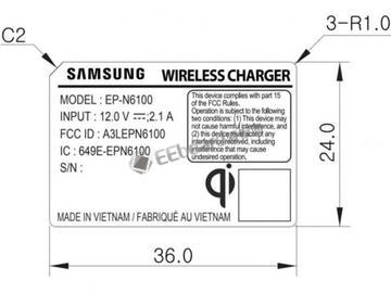 三星Galaxy Note 9曝光:配全新的无线充电器