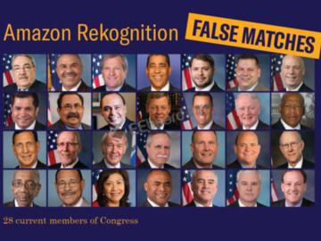 有28个国会议员匹配警方嫌疑犯照片?这是怎么回事?