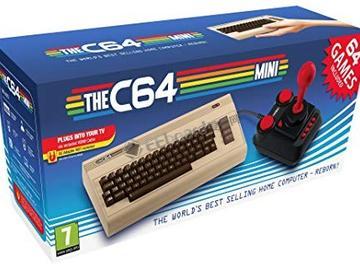 复古游戏机Commodore 64 Mini将于10月9日北美发布