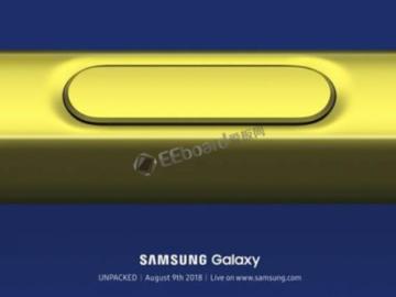 变身手机控制器?三星Galaxy Note9 Spen或能通过蓝牙控制Galaxy Note9 !