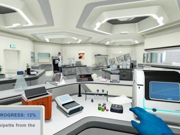 虚拟现实再出花招——虚拟科学实验室